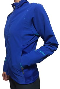 Zoot Zoot Sports Women's Runfit Jacket, Indigo, Medium