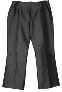 Bill Blass Silk Formal Cocktail Dress Straight Pants BLACK