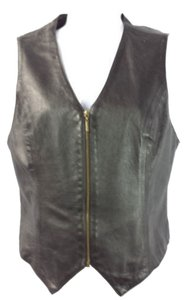 GEORGES MARCIANO Marciano Leather Vest