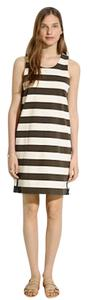 Madewell short dress Beige, Army Green, with Dark Blue Accents on Tradesy