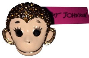 Betsey Johnson Retired Betsey Johnson Monkey Ring