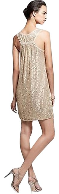 Item - Gold Sequined Pellina Short Cocktail Dress Size 2 (XS)