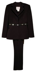 Vertigo Paris Vertigo Paris Black Belted Pants Suit