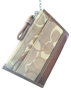 Coach Wallet Key Ring