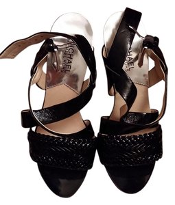 MICHAEL Michael Kors Black Platforms