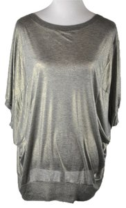 Vivienne Westwood Anglomania Size M Top Silver/Gold