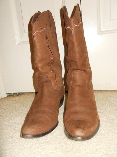 Laredo Leather Western brown Boots