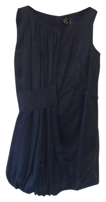 Castle Starr Satin Sequins Embellished Short Trendy Night Out Formal Cute Luxury Premium Dress