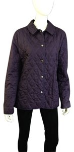 Burberry Quilted purple Jacket