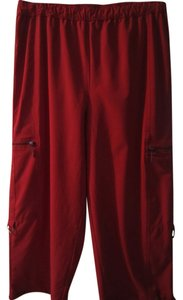 Chico's Capris Orange/Red