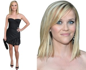Haney Reese Witherspoon Strapless Dress