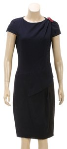 Chanel short dress Black and Navy Blue on Tradesy