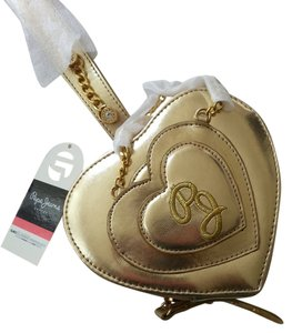 Pepe Jeans London Heart Wristlet in Gold