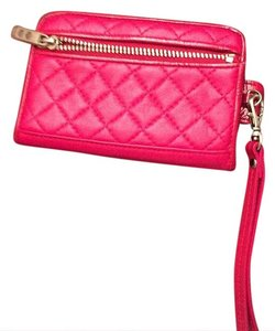 KNOMO Wristlet in Red