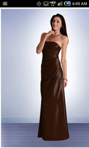 Bill Levkoff Sable/BROWN 427 Dress