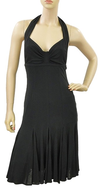 Preload https://img-static.tradesy.com/item/979566/donna-karan-black-matte-jersey-halter-knee-length-cocktail-dress-size-4-s-0-0-650-650.jpg
