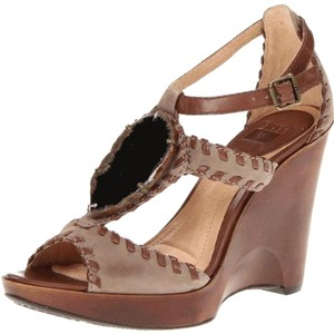 Frye Dark Brown Wedges