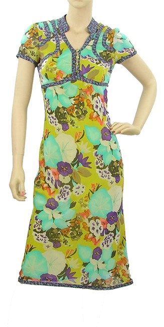Preload https://item2.tradesy.com/images/etro-green-chartreuse-floral-silk-knee-length-cocktail-dress-size-6-s-979631-0-0.jpg?width=400&height=650