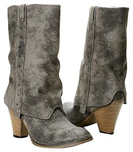 MIA Grey/Upper Woodgrain textured manmade soles Boots