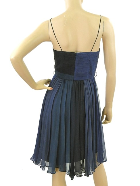 Foley + Corinna Chiffon Silk Flowy Print Empire Waist Sleeveless Drape Draped Dress