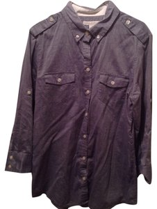 Banana Republic Button Down Shirt Dusk Blue