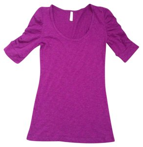 Color Story Casual T Shirt Purple