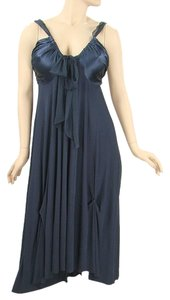 Gucci Party Evening Drape Draped Satin Silk Chiffon Dress