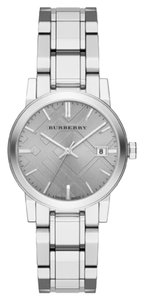 Burberry New Burberry Women's Grey Dial