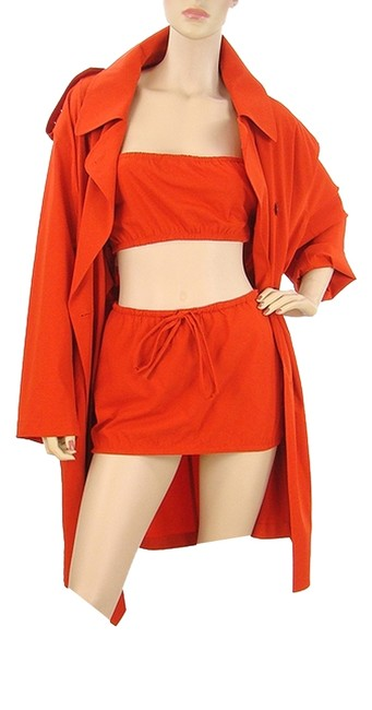 Preload https://item5.tradesy.com/images/jean-paul-gaultier-red-wool-trench-coat-high-low-night-out-dress-size-4-s-979979-0-0.jpg?width=400&height=650