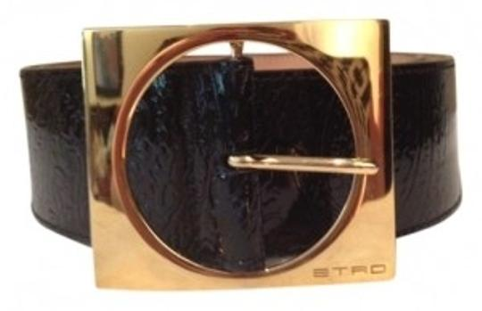 Preload https://item1.tradesy.com/images/etro-black-patent-with-gold-buckle-belt-9800-0-0.jpg?width=440&height=440