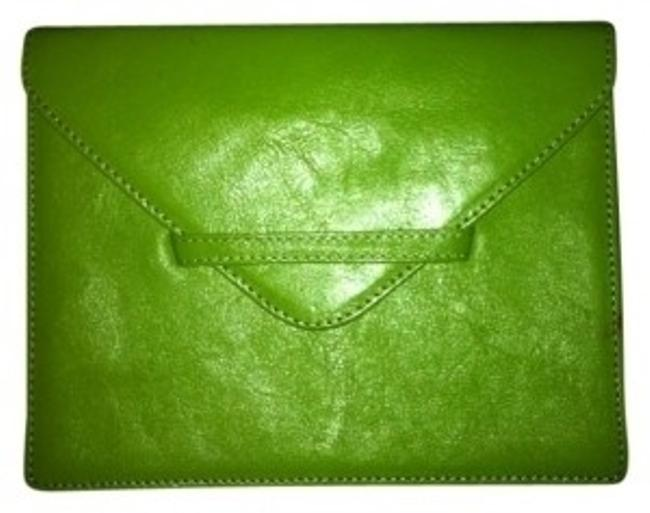 Item - Purse Lime Green Leather Clutch