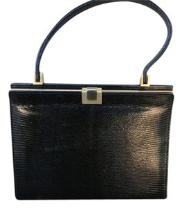 Saks Fifth Avenue Vintage Satchel in black