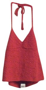 Ralph Lauren Black Label red Halter Top