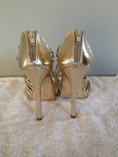Chinese Laundry Heels Gold Formal