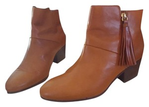 Coach Soft Leather Tan Boots