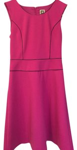 Anne Klein short dress Pink Black Flair Cotton Comfortable on Tradesy