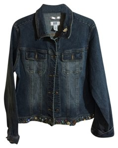 Old Navy and Artist's design denim with embellishments Womens Jean Jacket