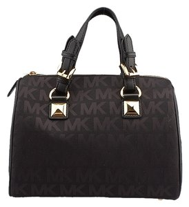 Michael Kors Grayson Satchel in Black