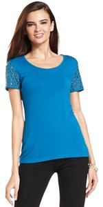 Grace Elements Studded Top Blue