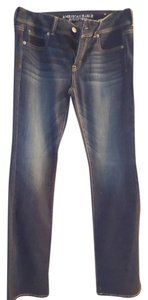 American Eagle Outfitters Dark Rinse Stretch Boot Cut Jeans-Dark Rinse