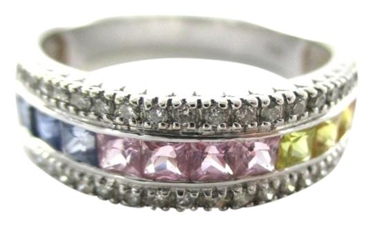 Preload https://item2.tradesy.com/images/white-gold-14k-40-diamond-precious-stones-band-cocktail-engagement-95-ring-980181-0-0.jpg?width=440&height=440
