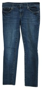 American Eagle Outfitters Short Skinny Jeans-Medium Wash