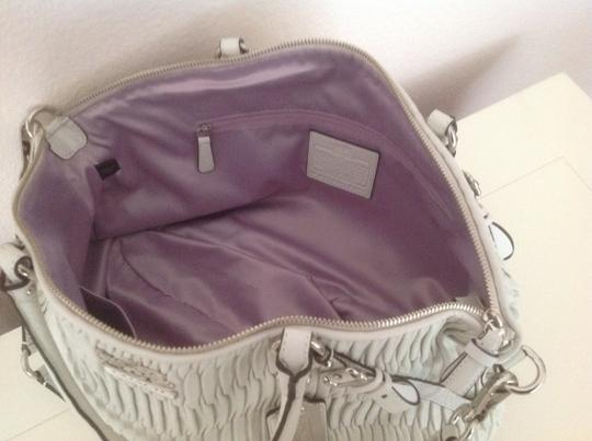 Coach Limited Edition Satchel in Parchment (white)