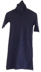 John Patrick Organic short dress Navy blue on Tradesy