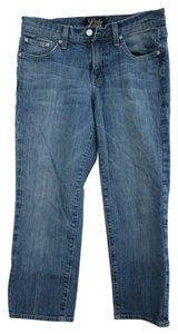 Lucky Brand Ankle Cropped Capri/Cropped Denim-Light Wash