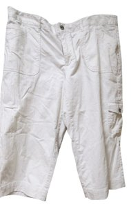 Liz & Co. Capris cream white