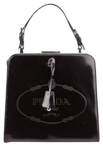 Prada Wears Frame Handle Logo Devil Shoulder Bag