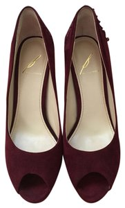 B Brian Atwood Burgundy Pumps