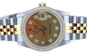 Rolex Rolex Datejust Gold SS Midsize 31mm Watch
