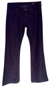X2 Trouser/Wide Leg Jeans-Dark Rinse
